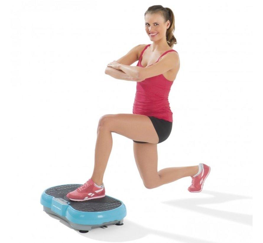 Trilplaat Wayflex Blue - fitness - body shaper - Vibro Shaper