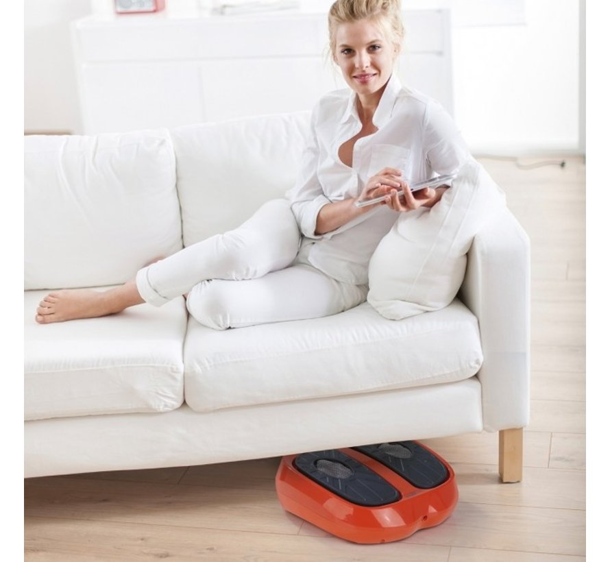 Bloedcirculatieapparaat 2in1 - Spierstimulatie - Voetmassage - Shiatsu massage