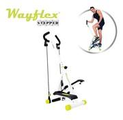 Wayflex Stepper inklapbaar - Stepapparaat met weerstandsbanden en display - Bekend van TV