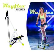 Wayflex Stepper inklapbaar - Stepapparaat met weerstandsbanden en display - Bekend van TV - Copy