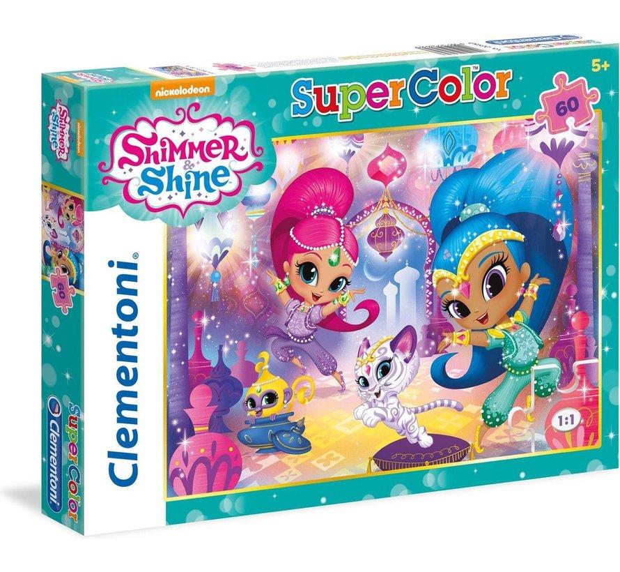 Shimmer & Shine - Puzzel - 60 stukjes - 33,5x23,5cm