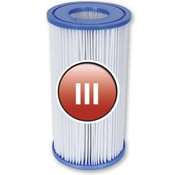 Bestway Flowclear Filterpatroon Type III (=A&C) Voor filterpompen tot 5678 Ltr/uur
