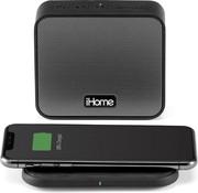 iHome iBTW88 Draagbare Bluetooth speaker + Indicatie laadstation, laadt zowel de speaker als smartphones op!