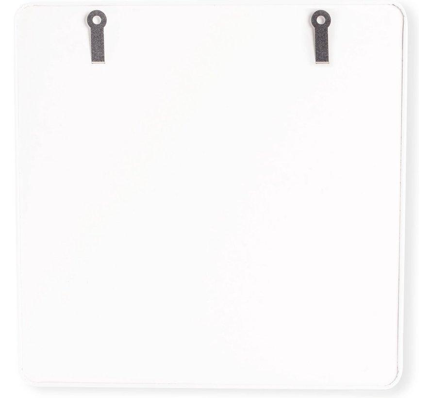 Trendy Magneetbord Kreeft - Whiteboard - Beschrijfbaar - 4 Magneten - 29x29cm