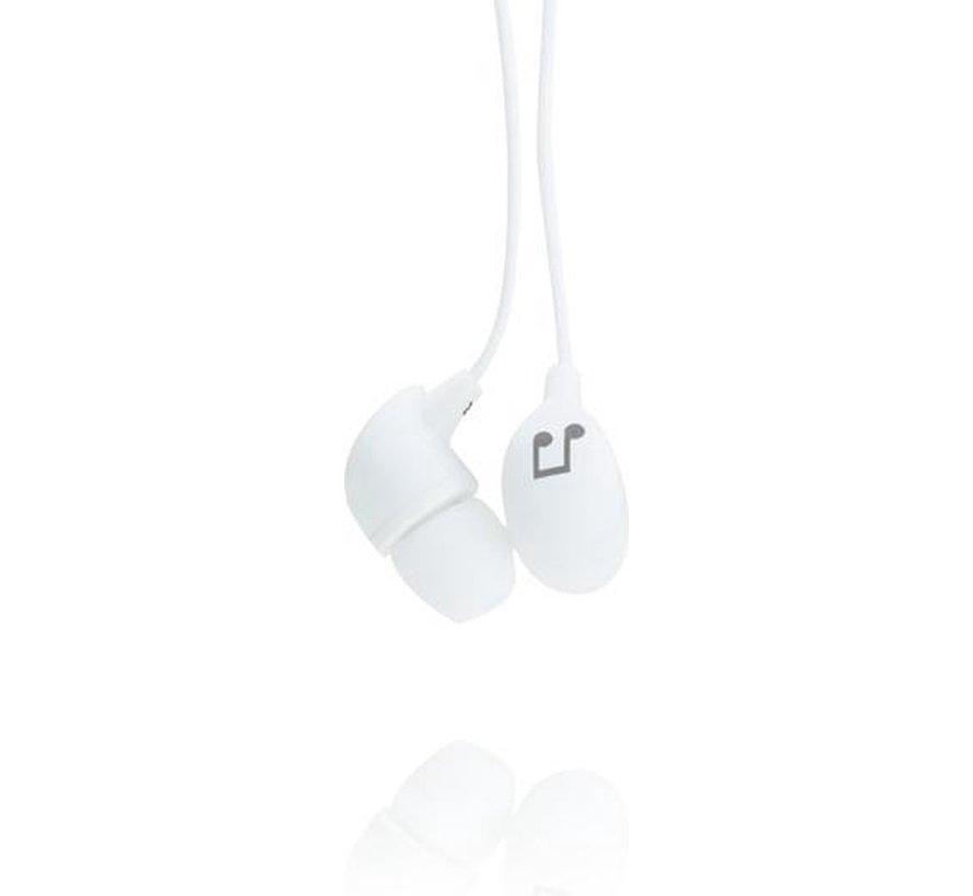 In-ear oordopjes - Wit