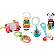 Fisher Price Mini Take Along - Baby Cadeauset / Geschenkset - 6 Delig