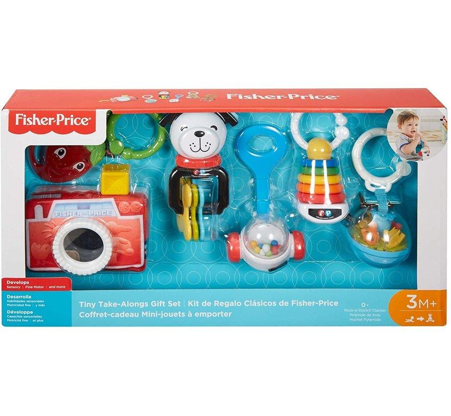 Mini Take Along - Baby Cadeauset / Geschenkset - 6 Delig