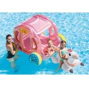 Intex Opblaasbare prinsessenkoets met paard - Zwembad luchtbed en ride-on