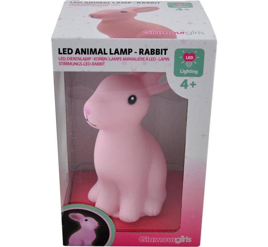 LED Dierenlamp Konijn - Kinderlamp