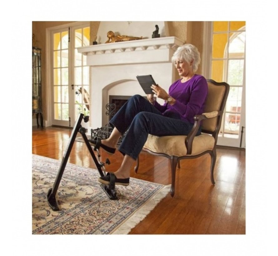Hometrainer Senioren Fiets Trainer - bewegingstrainer - fiets simulator