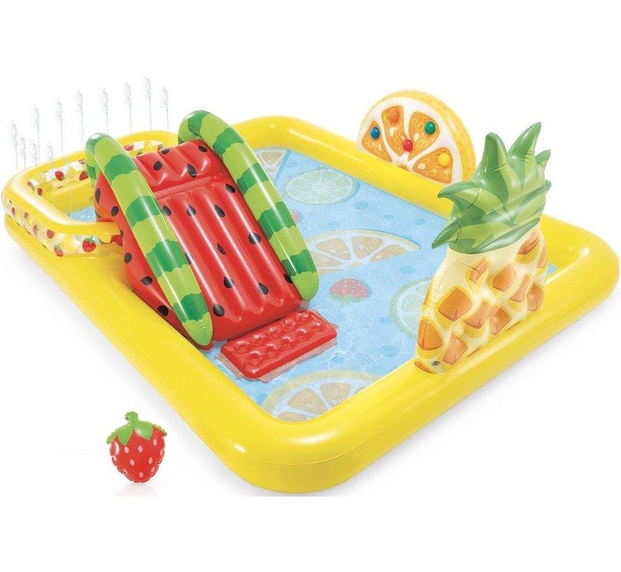 Opblaasbaar speelzwembad 'Fun 'N Fruity' - Kinderzwembad