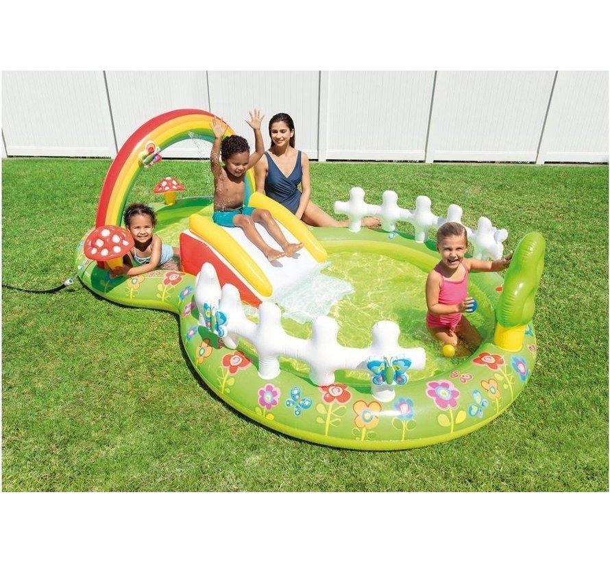 Opblaasbaar speelzwembad 'My Garden' - Kinderzwembad