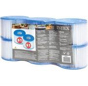 Intex 6 stuks Spa Filter voor de PureSpa Type S1 - Filterpatroon / Filtercartridge