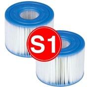 Intex 8 stuks Spa Filter voor de PureSpa Type S1 - Filterpatroon / Filtercartridge