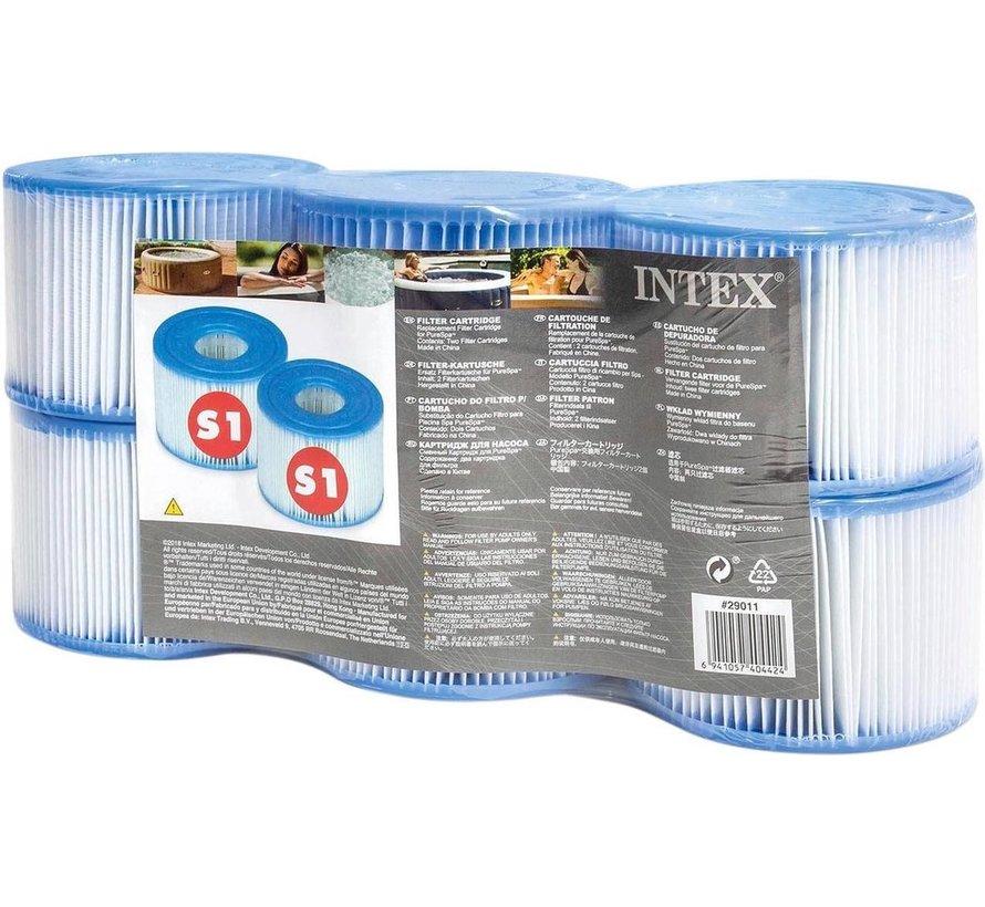 12x Spa Filter voor de PureSpa Type S1 - Filterpatroon / Filtercartridge