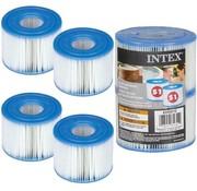 Intex 4 stuks Spa Filter voor de PureSpa Type S1 - Filterpatroon / Filtercartridge