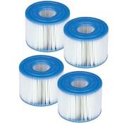 Intex 4x Spa Filter voor de PureSpa Type S1 - Filterpatroon / Filtercartridge