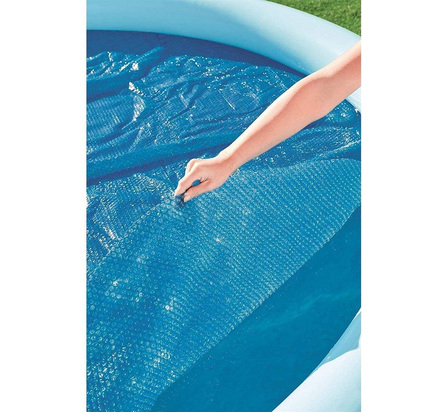 Solar zwembad afdekzeil / cover isolerend - rond - Ø 427cm