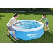 Bestway Solar zwembad afdekzeil / cover isolerend - rond - Ø 244cm