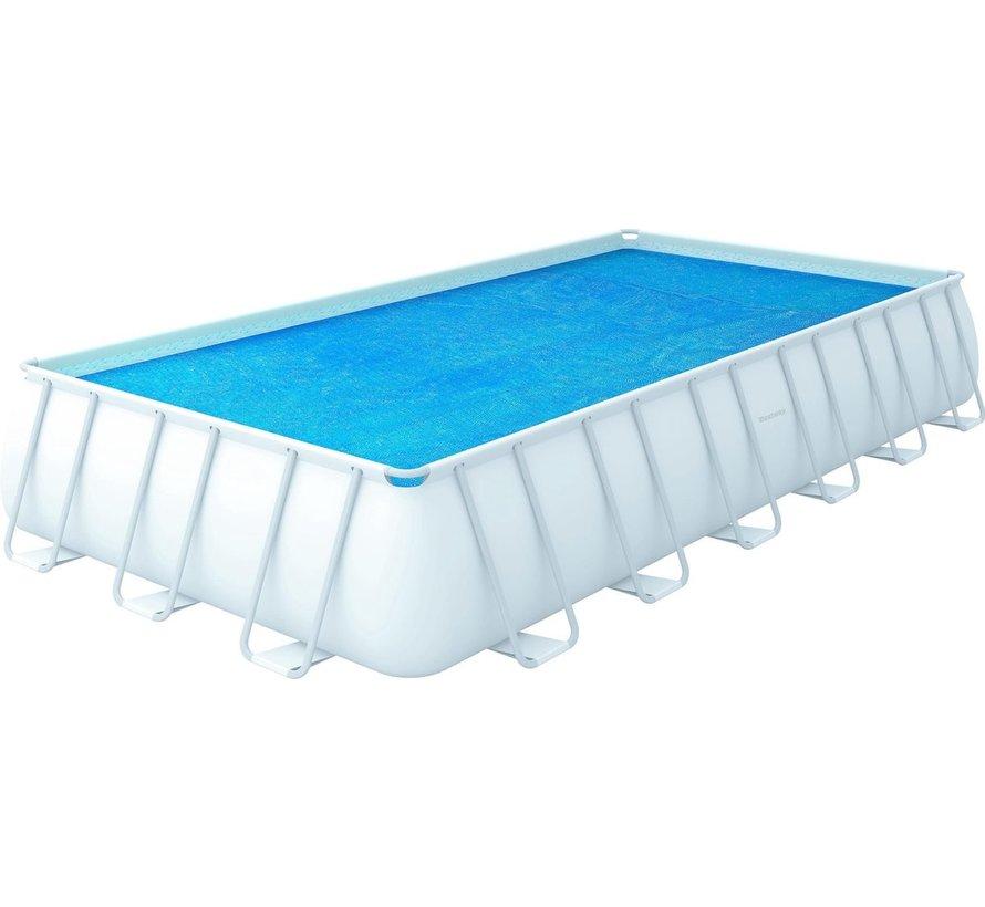 Solar zwembad afdekzeil / cover isolerend - 732x366cm