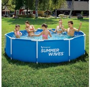 Summer Waves Active Metal frame zwembad - Inclusief filterpomp - Ø 305cm x 76cm