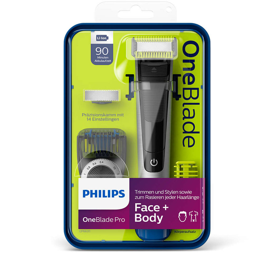 QP6620/20 OneBlade Pro - Face + Body set
