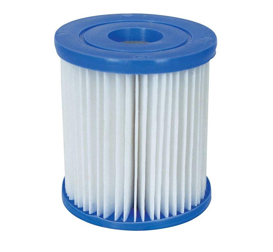 12 stuks Flowclear Filterpatroon Type I - Voor filterpompen tot 1,2 m³