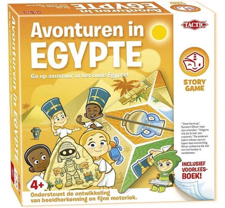 4 pack Story Game - Oceaan Ontdekkers - Pret in het Circus - Mysterie op de Kermis - Avonturen in Egypte