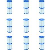 Bestway 18 stuks Flowclear Filterpatroon Type I - Voor filterpompen tot 1,2 m³