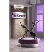 Bulbhead Slim Cycle 2-in-1 - Bekend van TV - Opvouwbare hometrainer – Rugsteun, 8 weerstandsniveaus, Digitaal display, ligfiets