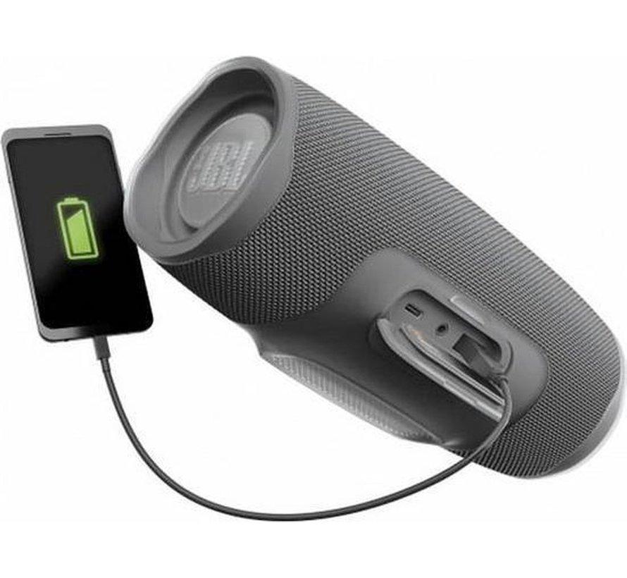 Charge 4 Grijs - Draagbare Bluetooth Accu Speaker - Waterdicht - Powerbank - 30W