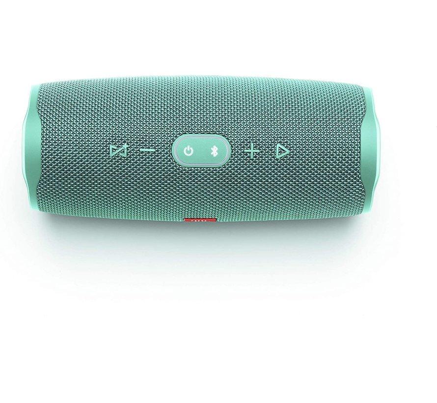 Charge 4 Turquoise - Draagbare Bluetooth Accu Speaker - Waterdicht - Powerbank - 30W