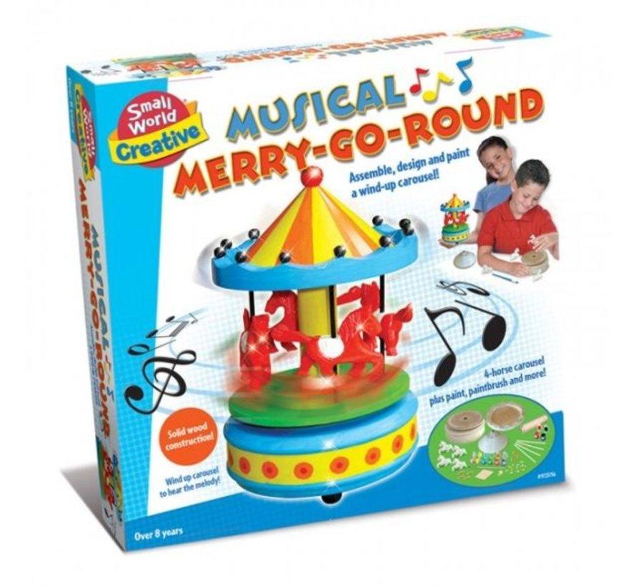 Musical Merry-Go-Round - Maak je eigen opwindbare Carrousel