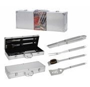 BBQ Collection 5-Delige barbecue gereedschapsset - RVS - in luxe koffer
