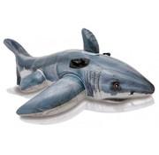 Intex Luxe opblaasbare witte haai (173x107cm)