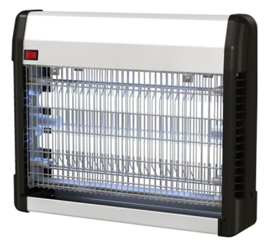 Elektrische insectendoder/ muggenlamp - UV lamp - 23 Watt - 35cm breed x 9cm lang x28,5cm hoog
