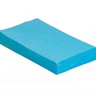Traypapier Blauw
