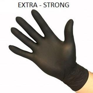 Feather Disposables   Nitril handschoenen zwart
