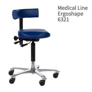 Score Score werkstoel Medical Line met rug