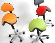 Zadelkrukken en werkstoelen