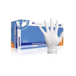 Klinion Nitril handschoenen wit klinion 150 STUKS