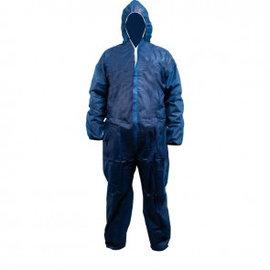 Wegwerp overall blauw non-woven