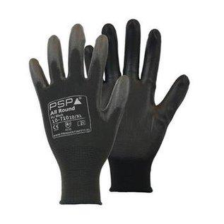 PSP Werkhandschoenen - President Safety  Montage handschoenen PSP Allround PU Poly Flex Black 10-710