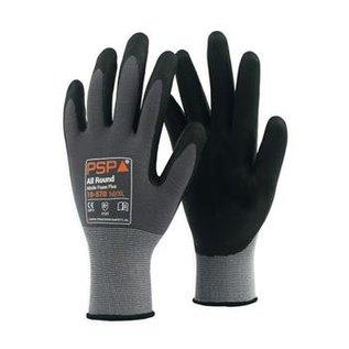 PSP Werkhandschoenen - President Safety  Montage handschoenen PSP Allround Nitrile Foam Plus 10-570