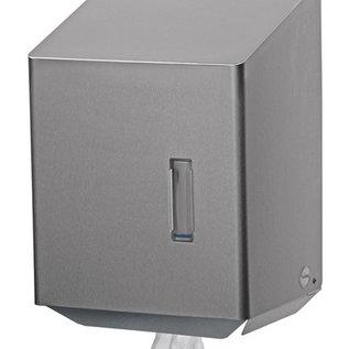Ophardt Hygiëne Santral Papierrolhouder RVS geschikt voor midi papierrol