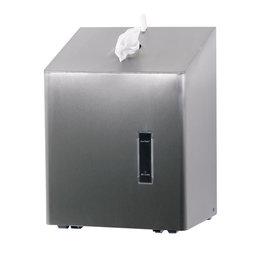 Ophardt Hygiëne Santral Papierrolhouder RVS tafelmodel geschikt voor midi papierrol
