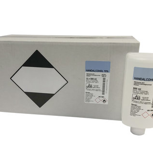 All Care Alcohol 10 X 500ML navulling  Medisch met toelatingsnummer incl. doseerdop