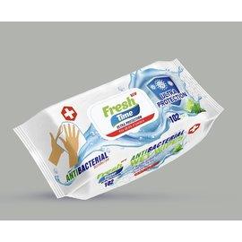 Fresh Time Antibacteriële doekjes Fresh
