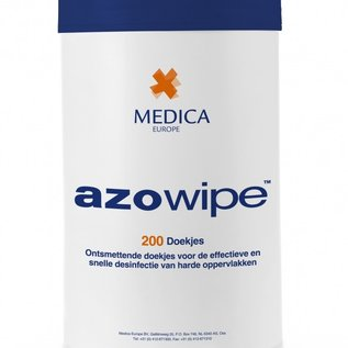medica Medica Europe Azowipe 200 desinfectie-doekjes flacon.