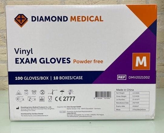 Vinyl handschoenen medisch-Diamond Medical